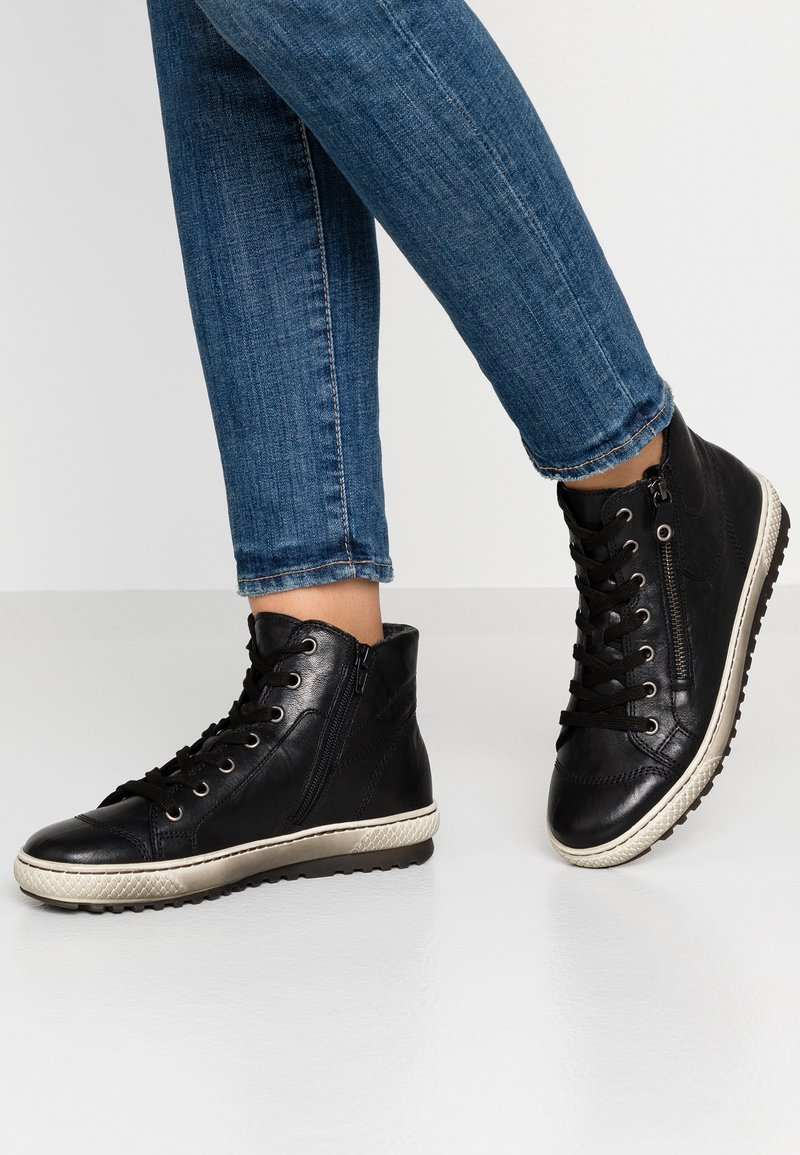 Gabor - Sneakers high - schwarz