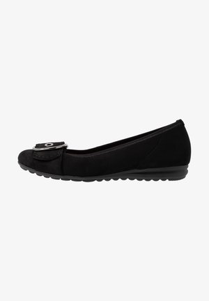 WIDE FIT  - Ballet pumps - schwarz