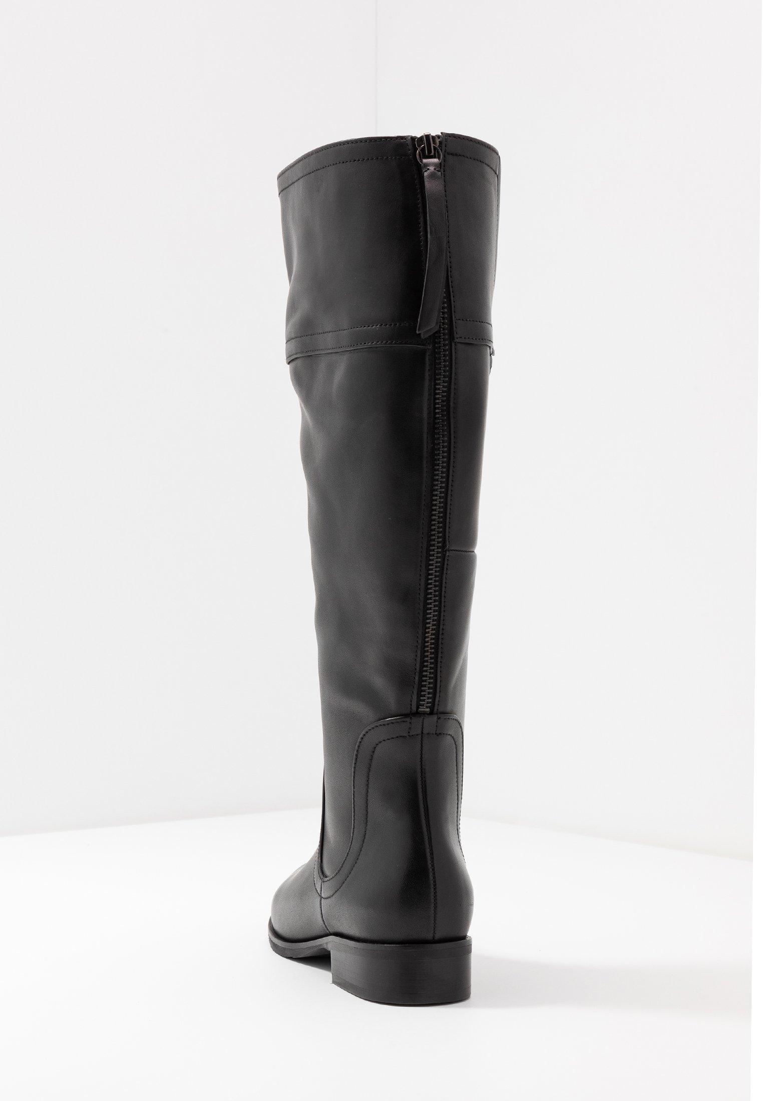 WIDE FIT Stiefel schwarz