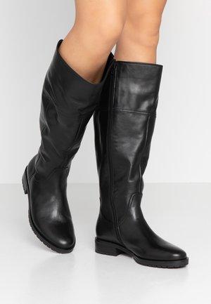 WIDE FIT - Boots - schwarz