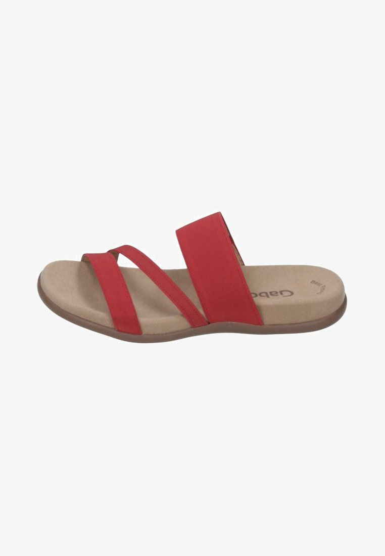 Gabor - Mules - red
