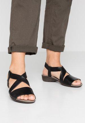 Sandalias - schwarz