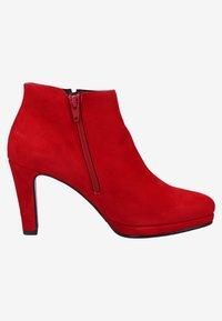 Gabor - High heeled ankle boots - rubin - 6