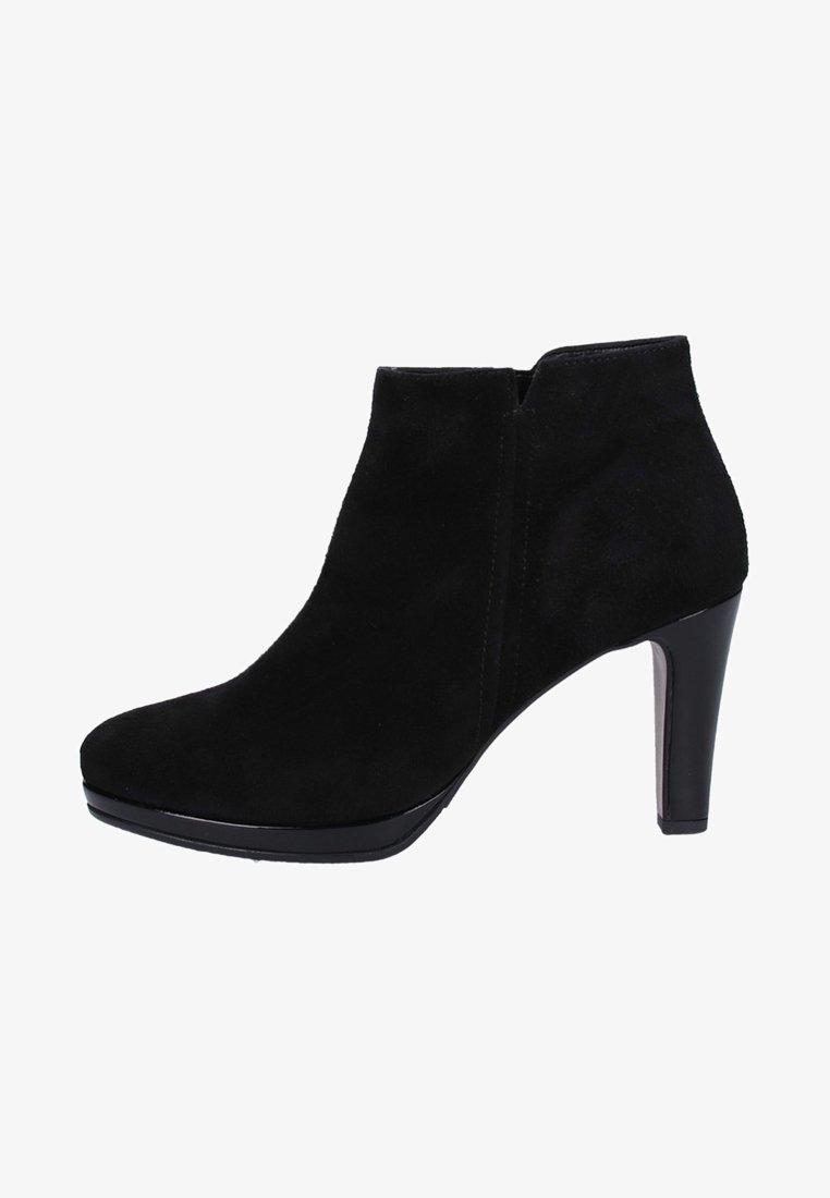 Gabor - High heeled ankle boots - black