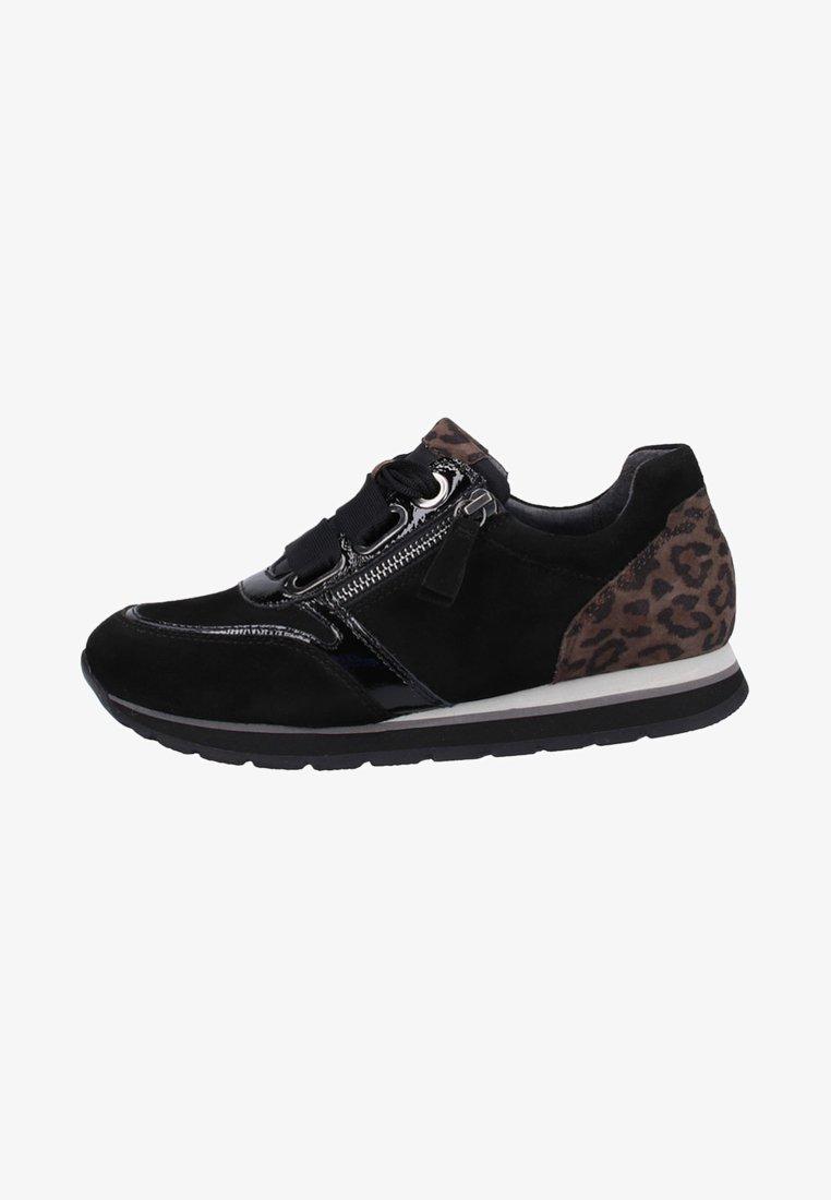 Gabor - Sneaker low - black/anthracite