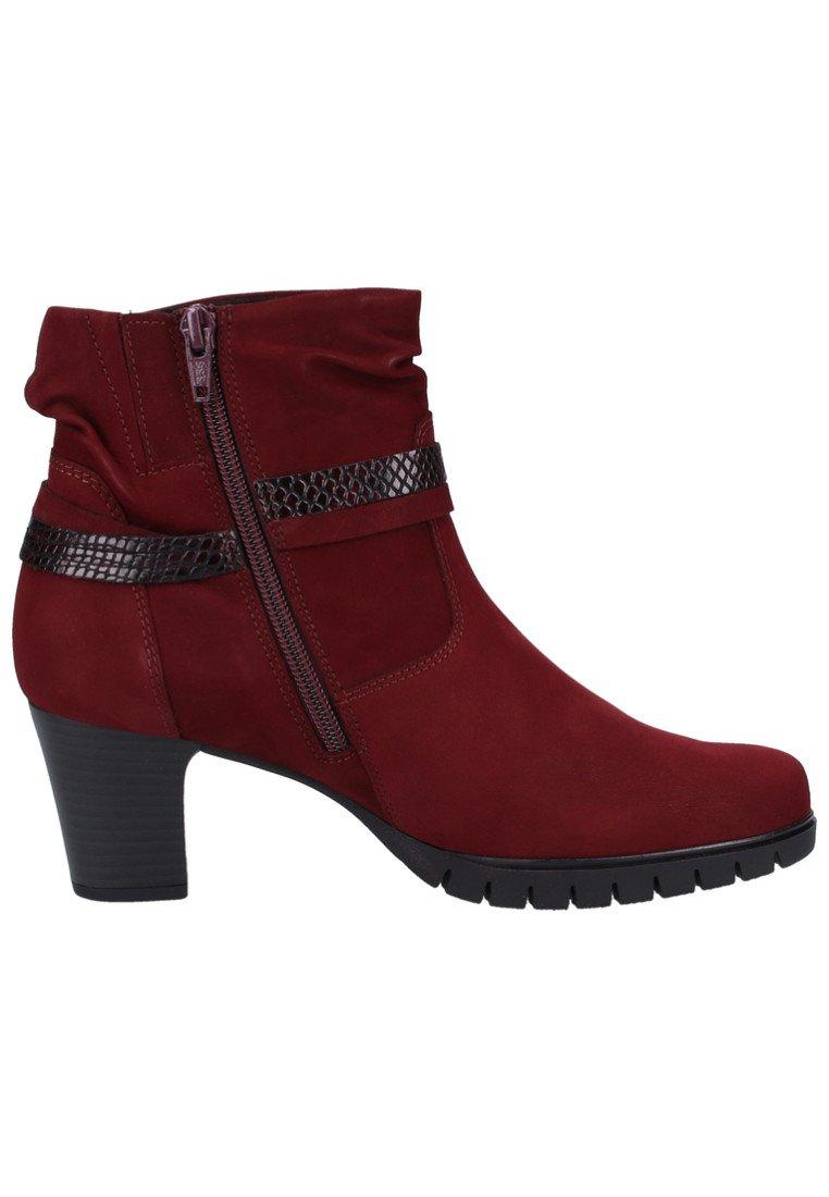 Dark Red Boots Gabor À Talons 54RA3jL