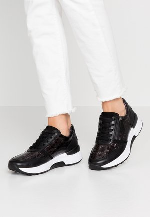WIDE FIT - Sneakers laag - schwarz
