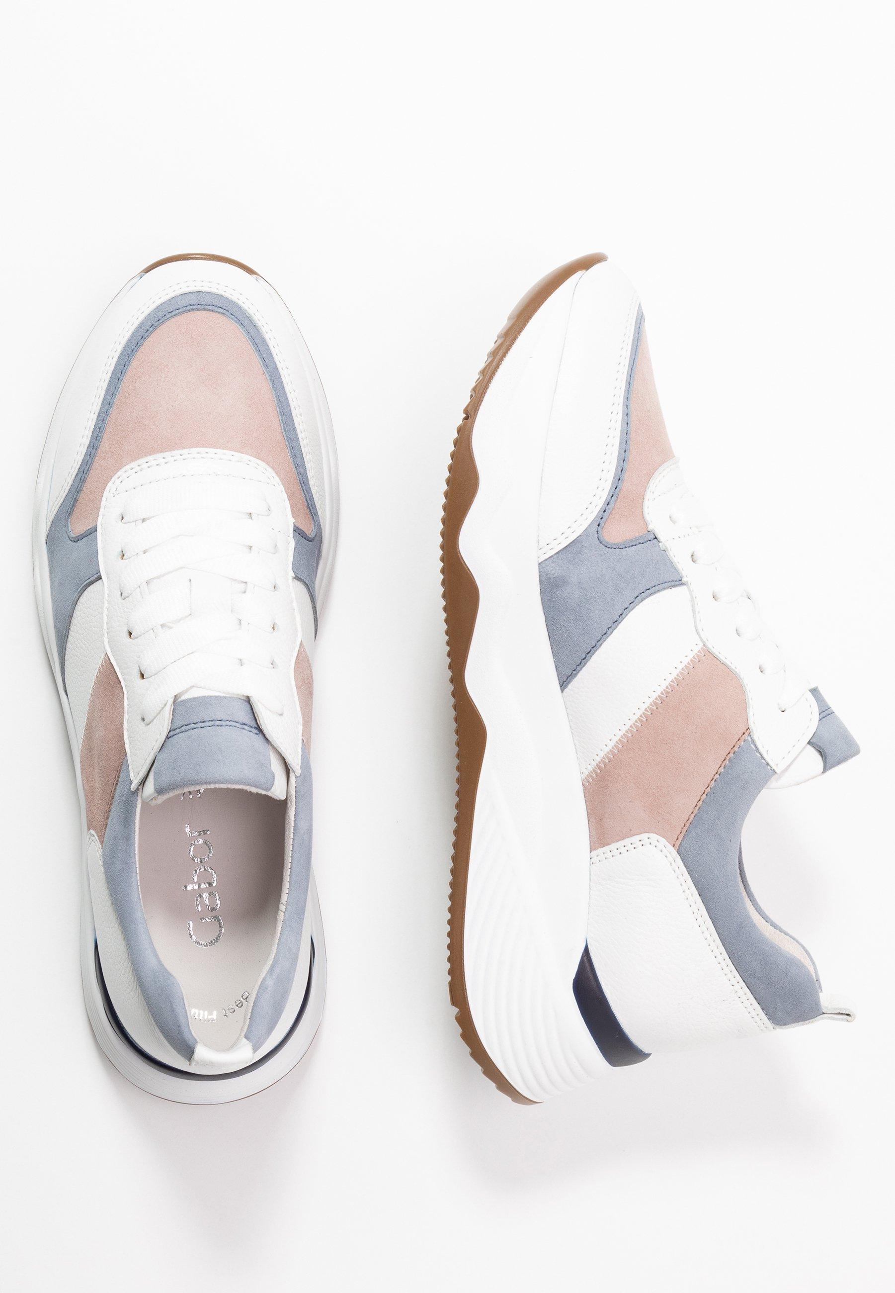 Gabor Sneakersy niskie - weiß/pastell