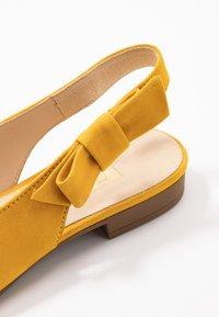 Gabor - Slingback ballet pumps - sun - 2