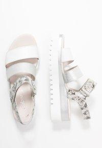 Gabor - Platform sandals - weiß/argento - 3