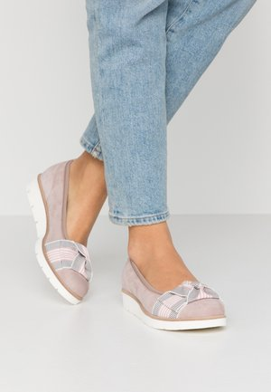 Wedges - antik rosa