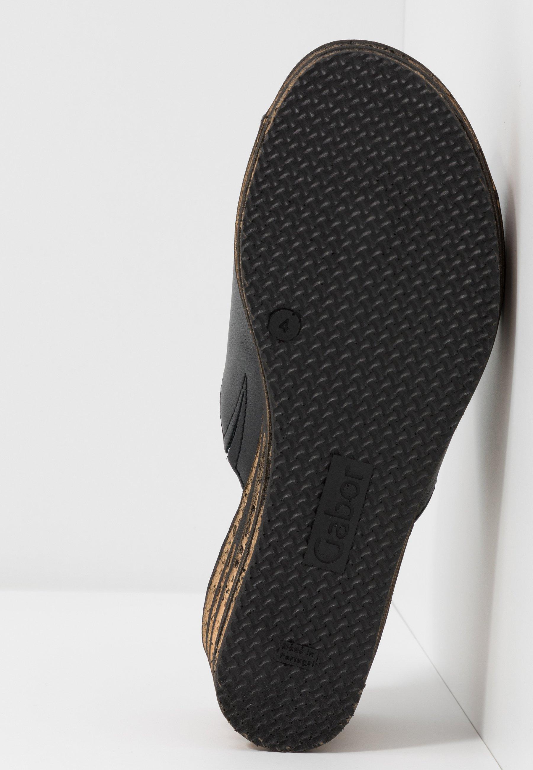Gabor Heeled mules - schwarz