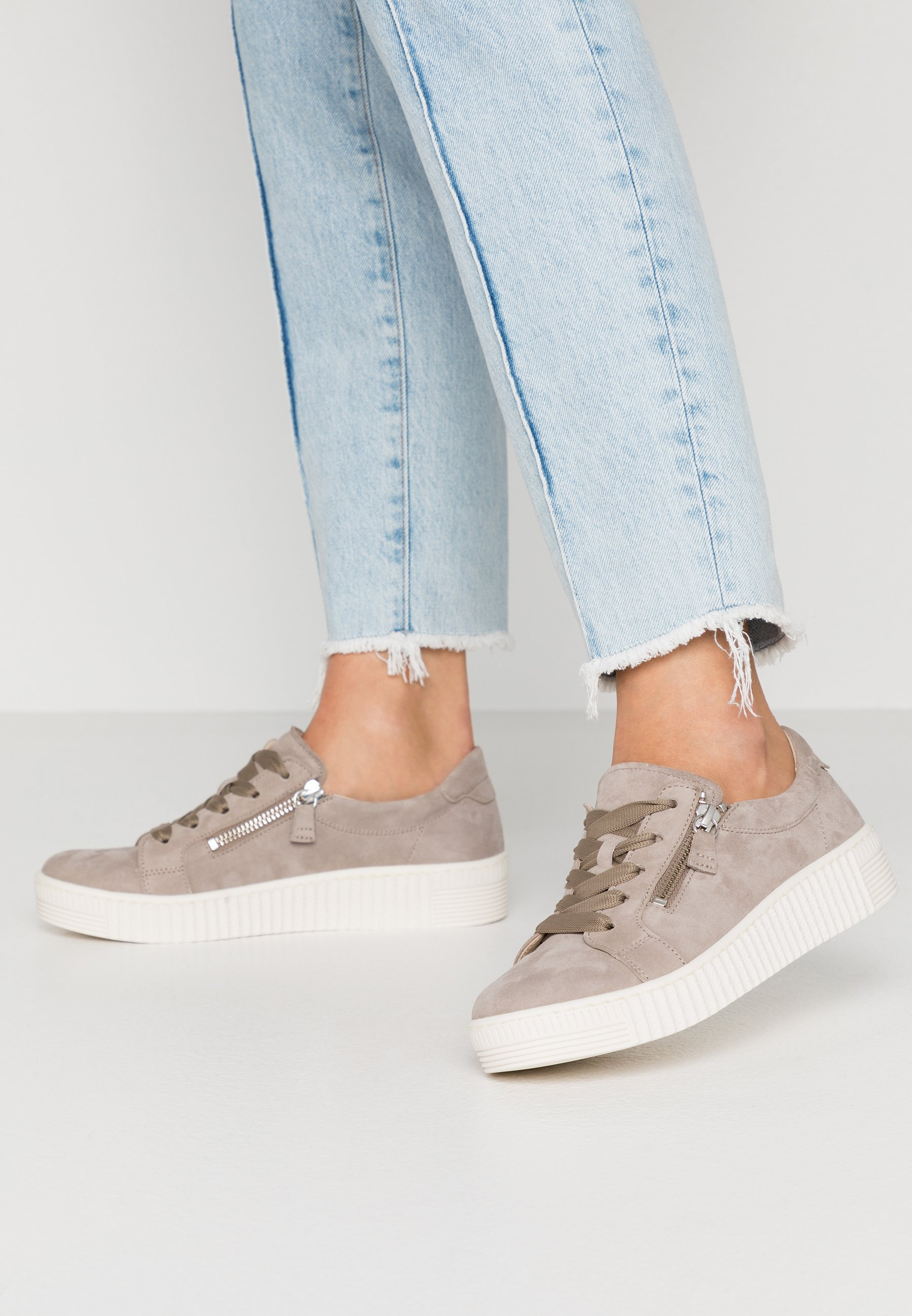 Gabor Sneakersy niskie - taupe