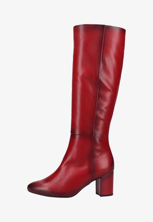 Bottes - dark-red