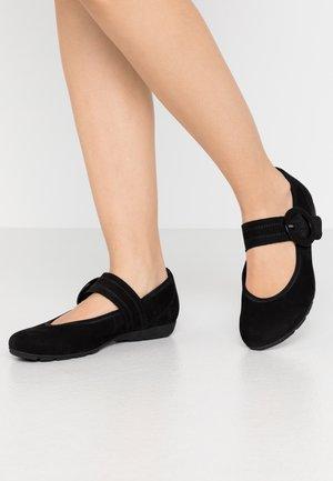 Ballerinasko m/ rem - schwarz