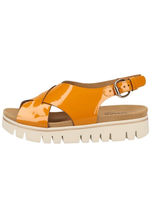 Sandalen met plateauzool - sole 92