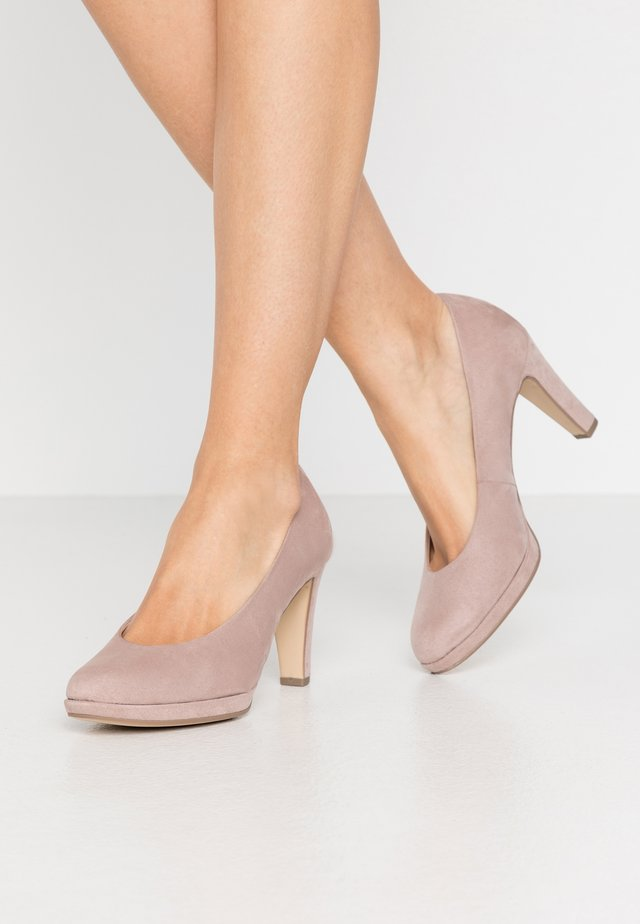 High Heel Pumps - antik rosa