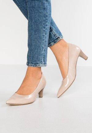 Classic heels - sand