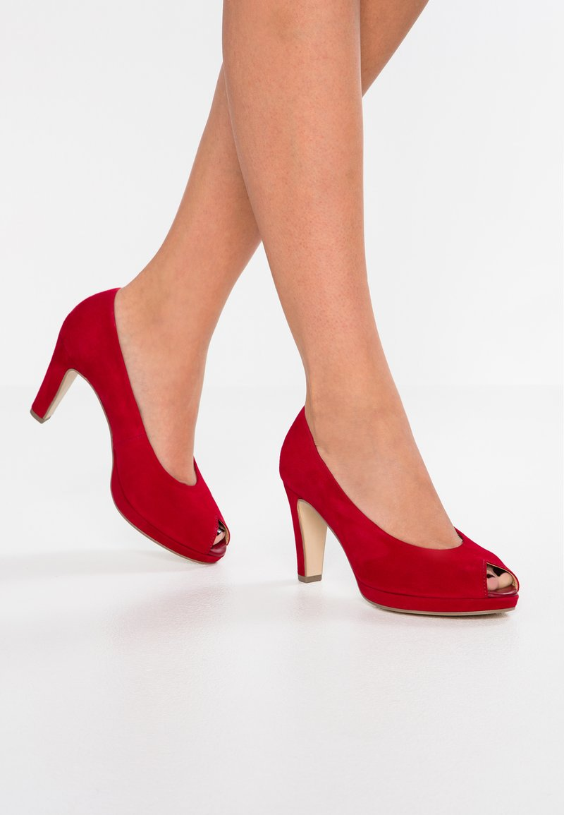 Gabor - High Heel Peeptoe - rubin