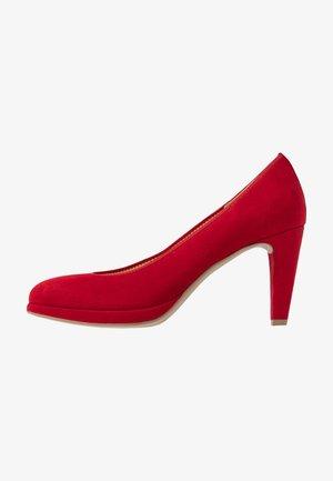 Zapatos altos - rubin