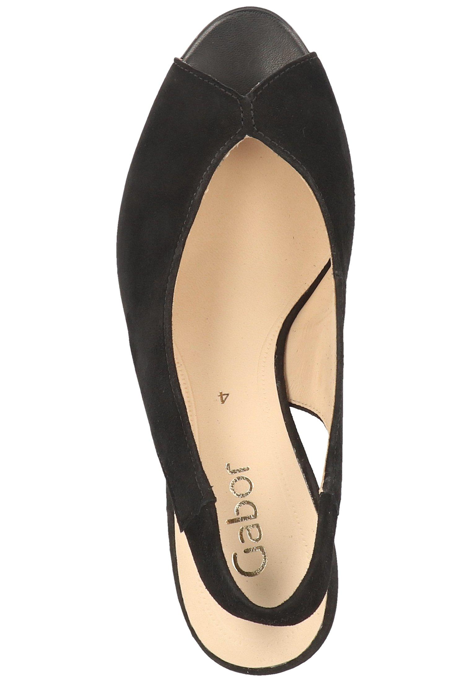 Gabor Peep-toes - black