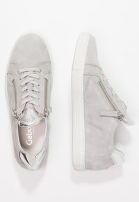 Gabor - WIDE FIT - Sneakers - light grey/argento - 2