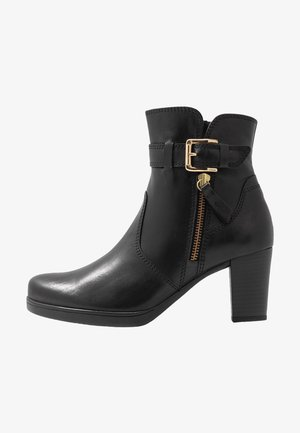 WIDE FIT - Botines - schwarz/gold