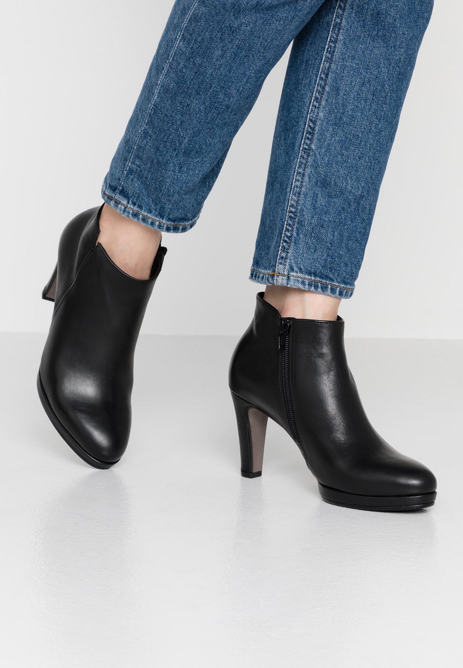 Gabor Boots à talons schwarz