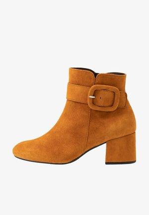 Boots à talons - curry