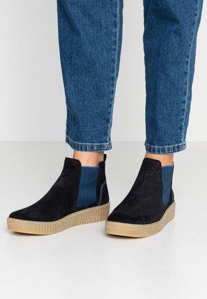 Kotníková obuv - pazifik/blau/natur