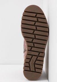 Gabor - Kotníkové boty na platformě - dark rose - 6