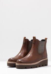 Gabor - Kotníkové boty na klínu - sattel - 4