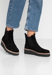 Gabor - Wedge Ankle Boots - schwarz - 0