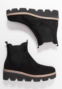Gabor - Wedge Ankle Boots - schwarz - 3