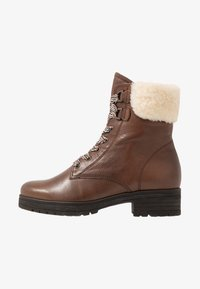 Gabor - WIDE FIT - Lace-up ankle boots - caramello - 1