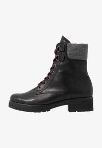 Gabor - WIDE FIT - Lace-up ankle boots - black - 1