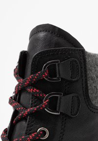 Gabor - WIDE FIT - Lace-up ankle boots - black - 2