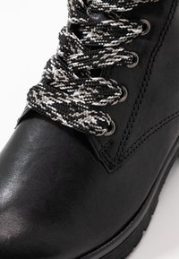 Gabor - WIDE FIT - Lace-up ankle boots - schwarz - 2