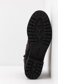 Gabor - WIDE FIT - Ankle boots - dark grey/schwarz - 6