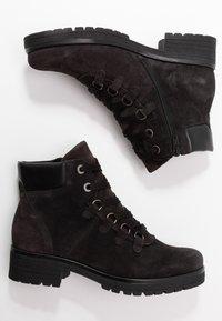 Gabor - WIDE FIT - Ankle boots - dark grey/schwarz - 3