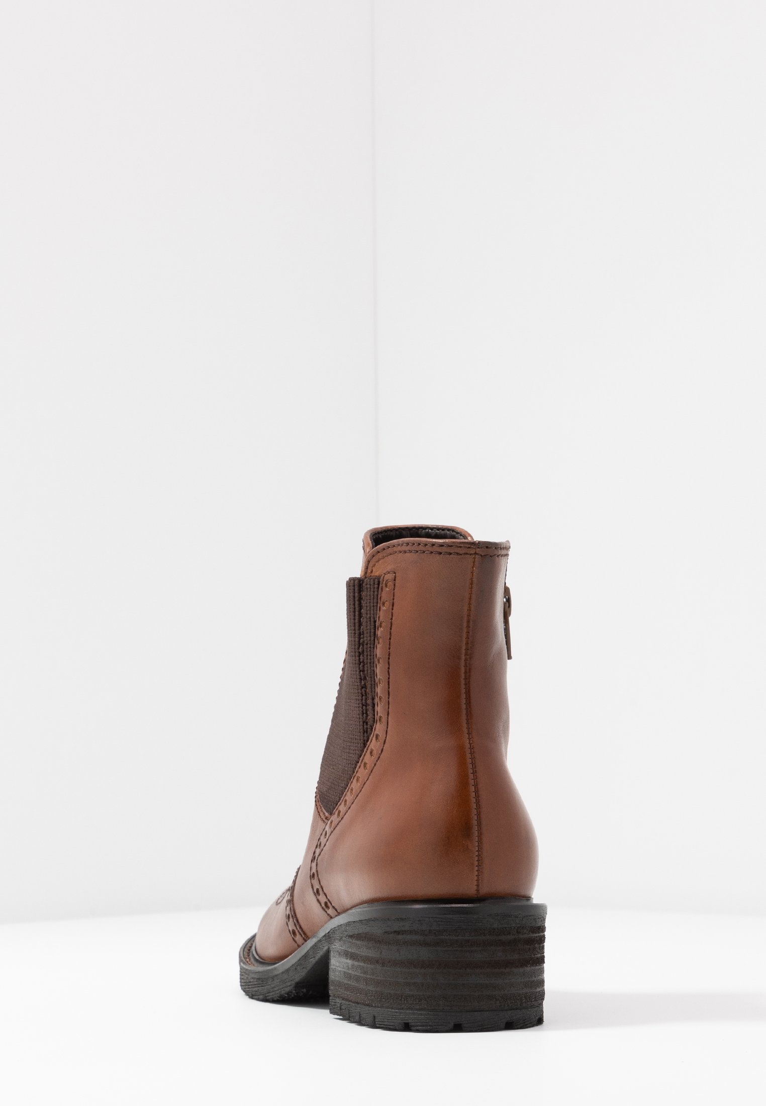 WIDE FIT Stiefelette whisky