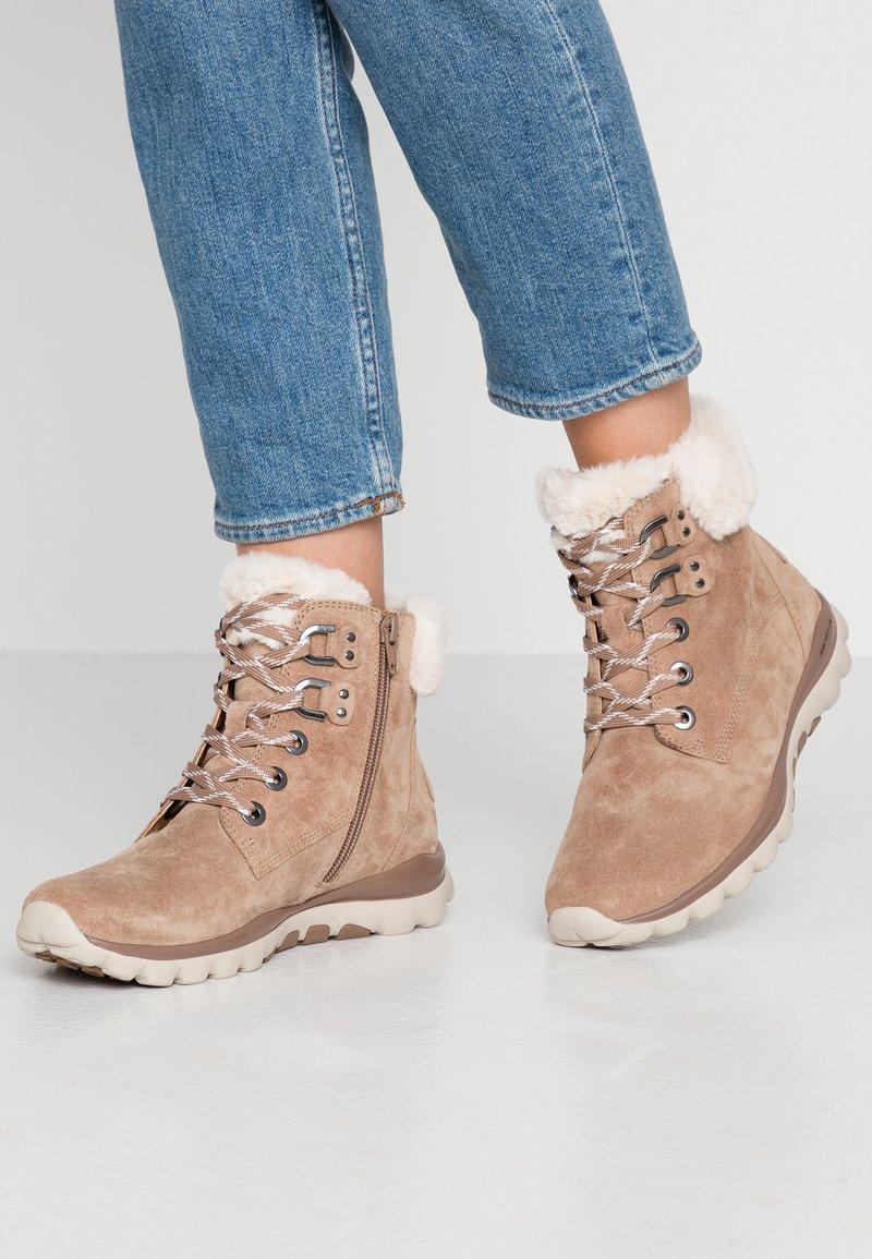 Gabor - ROLLING SOFT  - Winter boots - desert
