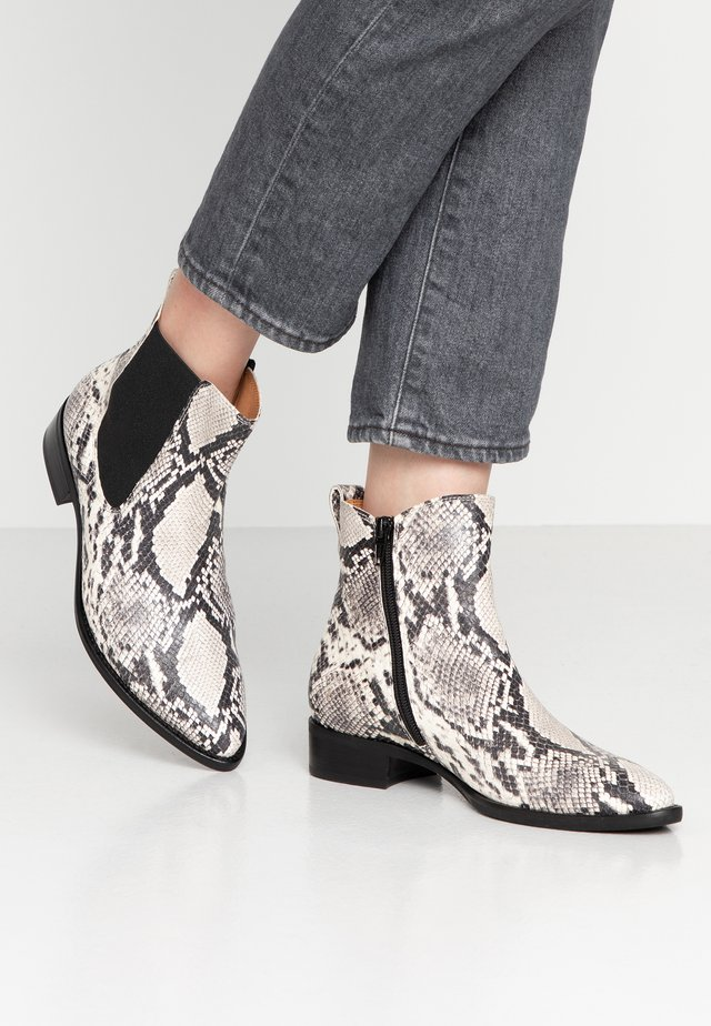 Korte laarzen - grau