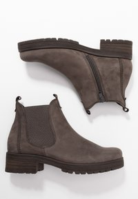 Gabor - WIDE FIT - Ankle boots - anthrazit - 3