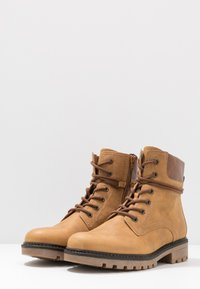 Gabor - Lace-up ankle boots - corn/peanut - 4