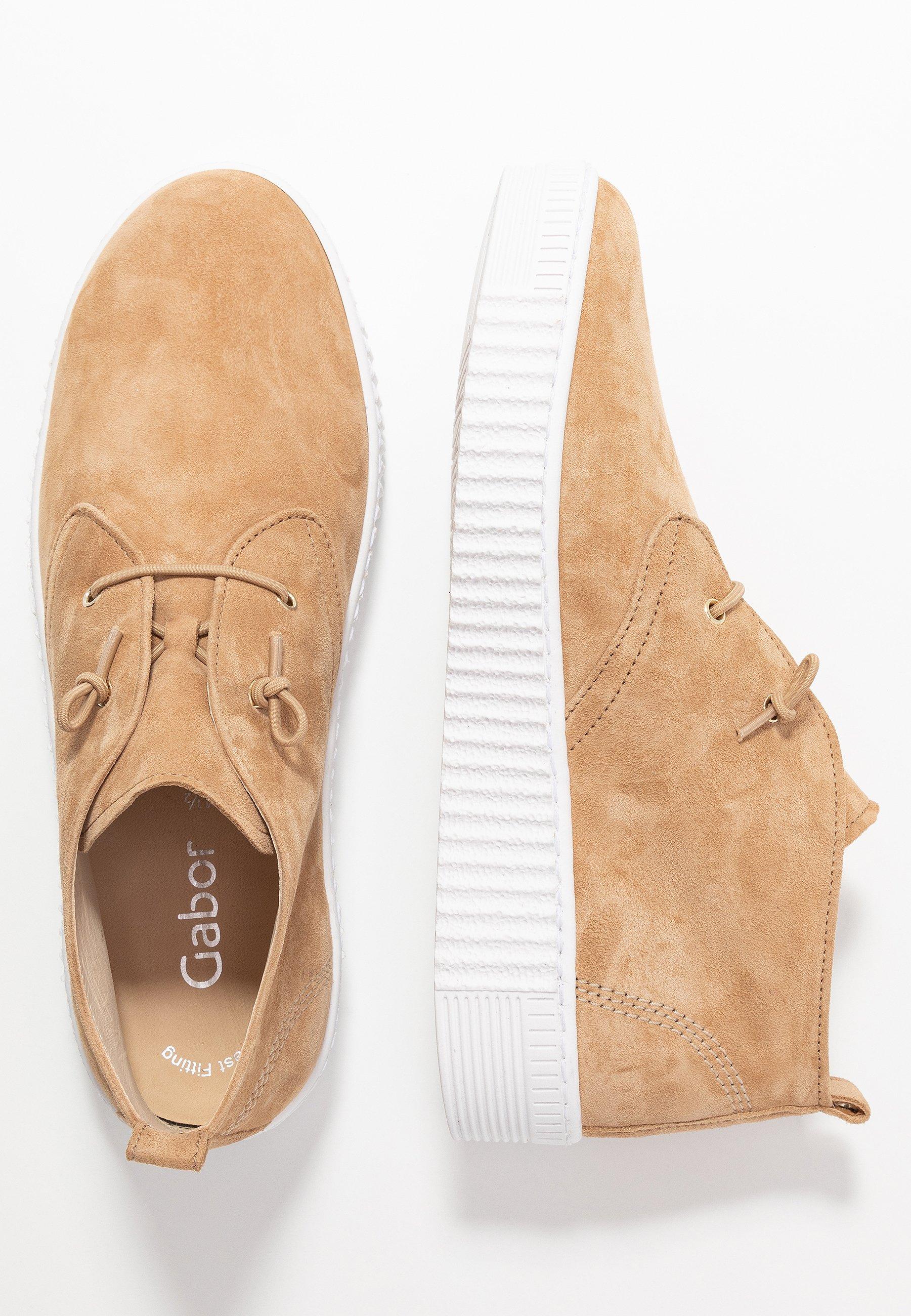 Gabor Sznurowane obuwie sportowe - caramel