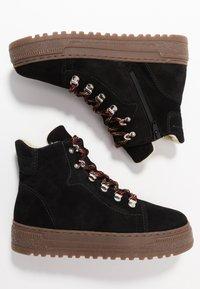 Gabor - Winter boots - schwarz/natur - 3