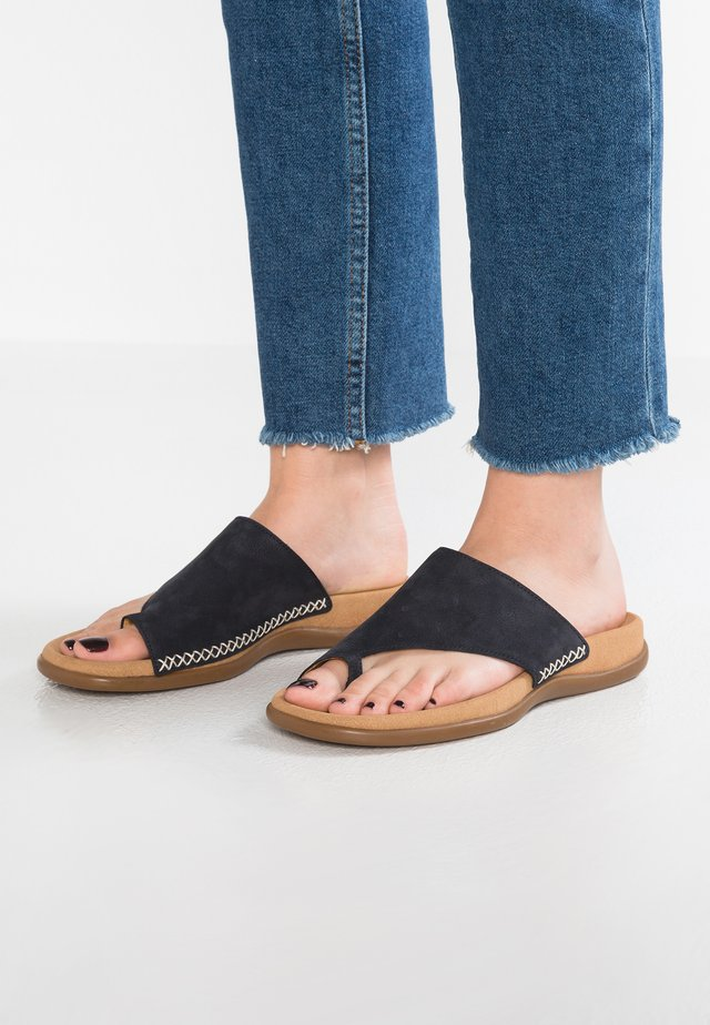 T-bar sandals - nightblue