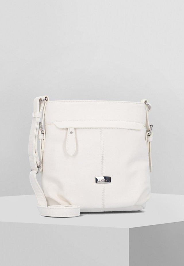 LISA  - Schoudertas - white