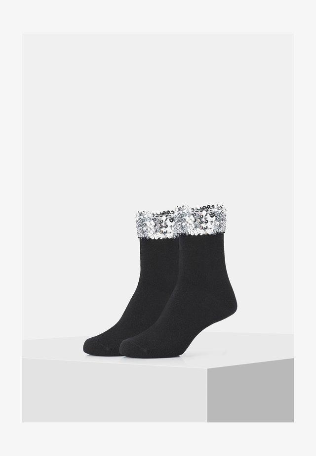 2 PACK - Socks - black/silver
